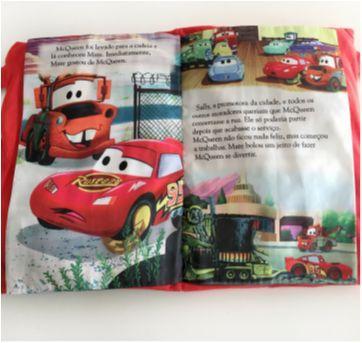Livro travesseiro Carros - Sem faixa etaria - Dcl
