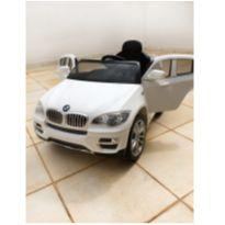 Carro Elétrico Infantil Bmw X6 Branca R/c 6v - Bandeirante -  - Bandeirante