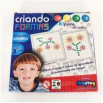 Brinquedo Educativo Criando Formas - Maptoy -  - Não informada
