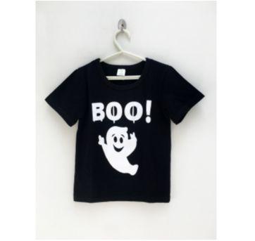 Camiseta BOO! - 6 anos - Não informada