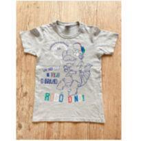 Camiseta Robô Dino - 8 anos - Zig Zig Zaa
