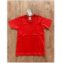 Camiseta vermelha - Malwee - 6 anos - Malwee