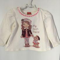 camiseta super estilosa e quentinha - 9 a 12 meses - Kyly
