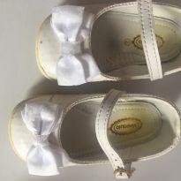 Sapatilha branca - 19 - Pimpolho