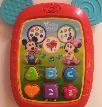 Mini tablet musical Mickey - Sem faixa etaria - Disney