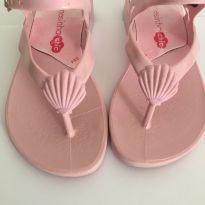 Sandália rosa - 23 - Charmosinha Chic