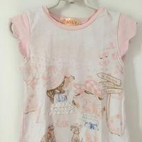 Camiseta menina - 2 anos - Mily