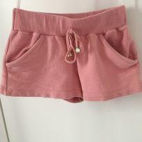 Short rosa - 4 anos - TMX