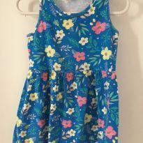 Vestido florido - 3 anos - Brandili