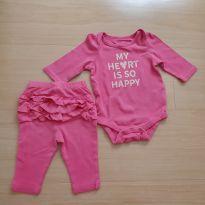 conjunto calça e body babygap - 0 a 3 meses - Baby Gap e GAP