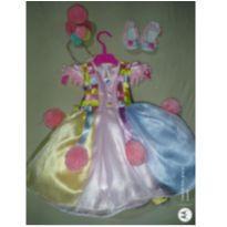 Vestido de Festa Circo Rosa -  - Confecção Exclusiva