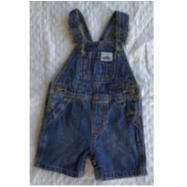 Jardineira Jeans - 6 meses - Carter`s