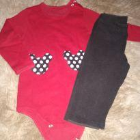 Kit Minnie - 6 a 9 meses - Bless Baby