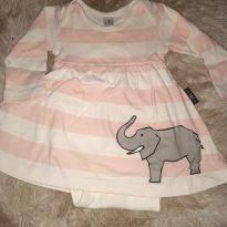 Body elefantinho - 9 meses - BB Básico