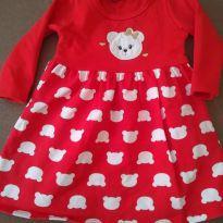 Vestidinho ursinha - 6 a 9 meses - Kyly