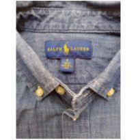 Camisa social para menino 5 anos - 5 anos - Ralph Lauren