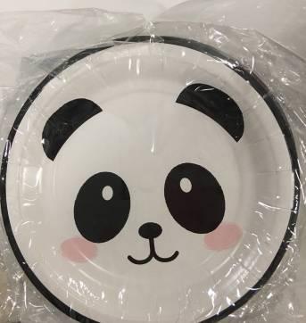 Kit festa panda - Sem faixa etaria - Cromus Festas