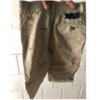Calça de sarja bege com bordados Ralph Lauren - 6 meses - Ralph Lauren