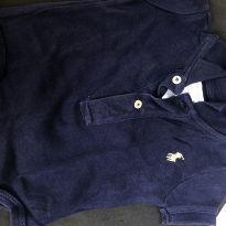 Body ralph lauren menino azul escuro - 3 meses - Ralph Lauren