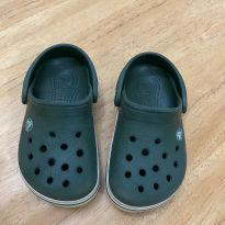 Sandália Crocs Infantil Crocband Clog Verde - 25 - Crocs