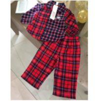 Pijama flanelado GAP - 18 a 24 meses - Gap Kids e GAP