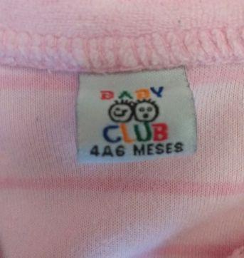 Macacão - 3 a 6 meses - Baby Club