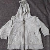 Jaqueta cinza básica - 3 meses - Carter`s
