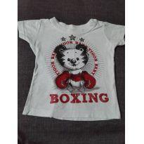 Camiseta Tigor - 6 meses - Tigor T.  Tigre e Tigor Baby