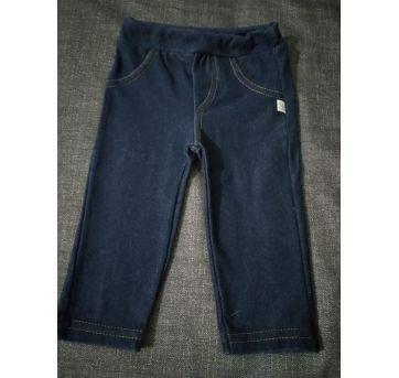 Calça imita jeans - 3 meses - Não informada