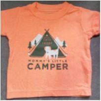 Camiseta carters - 6 meses - Carters - Sem etiqueta