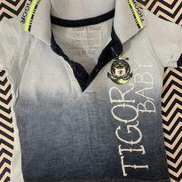 Camisa polo - 3 a 6 meses - Tigor T.  Tigre