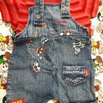 Jardineira infantil - 3 a 6 meses - Sonho Mágico
