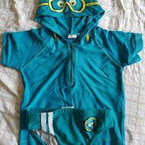 Conjunto Camisa e sunga de Praia - 24 a 36 meses - Tip Top