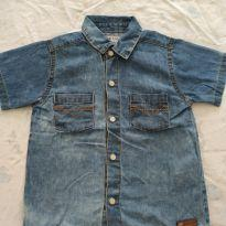 Camisa jeans - 24 a 36 meses - Up Baby