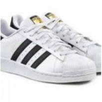 Tenis Adidas Superstar NOVO tamanho 34 - 34 - Adidas
