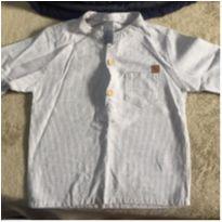 Camisa de linho Tigor Baby tamanho 1 P NUNCA USADA - 1 ano - Tigor Baby e Tigor T.  Tigre