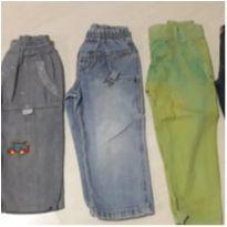 Lote de 5 calças Jeans - 2 anos - Jeans