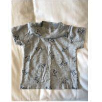 Camiseta Bulldog - 6 a 9 meses - Carter`s