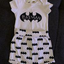 Body + Cobre fraldas do Batman - 0 a 3 meses - H&M