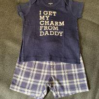 Camiseta + Shorts - 9 meses - Carter`s