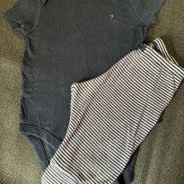 Body + Calça - 3 a 6 meses - Baby Gap