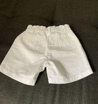 Shorts Branco - 6 meses - Koala Kids