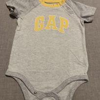 Body Manga Beisebol - 6 a 9 meses - Baby Gap