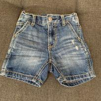 Bermuda Jeans Tommy - 1 ano - Tommy Hilfiger