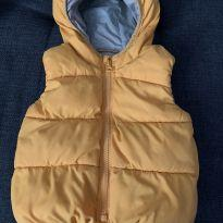Colete Acolchoado Amarelo - 12 a 18 meses - Baby Gap