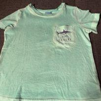 Camiseta Verde Stonada - 18 meses - Carter`s