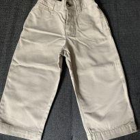 Calça Chino Caqui - 18 meses - Ralph Lauren