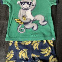 Pijama Macaco quer Bananas - 18 a 24 meses - Baby Gap