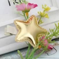 Presilha estrela dourada -  - Importada