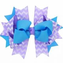 Laço boutique azul e lilás -  - Importada